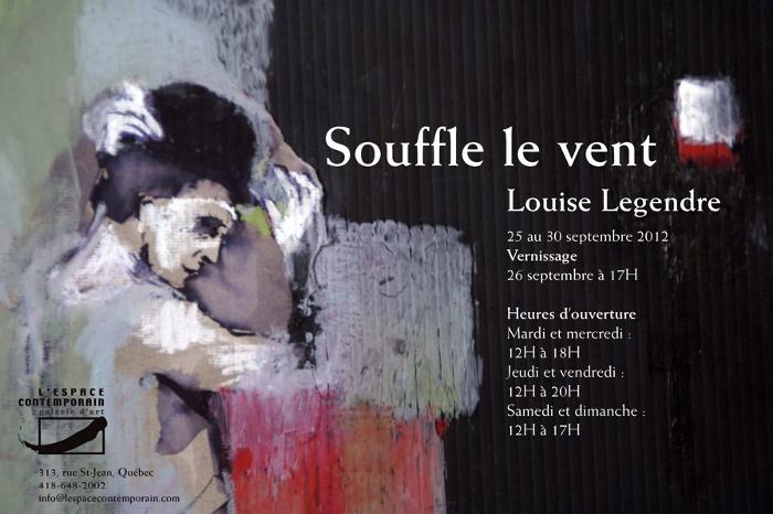 Souffle le vent de Louise Legendre à l'espace contemporain – La danse inspire la peinture