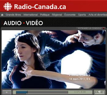 Radio-Canada – Rencontre avec Hélène Blackburn, chorégraphe et directice artistique de Cas Public
