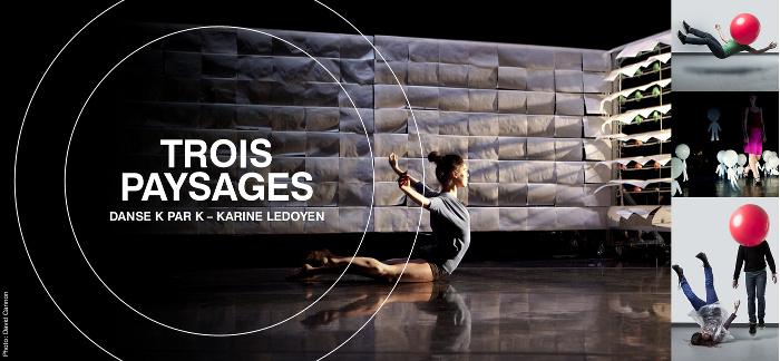 COMMUNIQUÉ – La Rotonde – «Trois Paysages» de Danse K par K