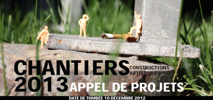 Appel de projets – Les chantiers 2013 du Carrefour international de théâtre