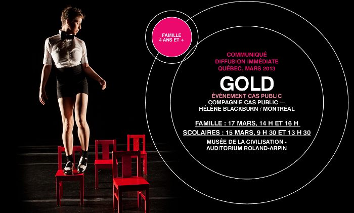 COMMUNIQUÉ – La Rotonde – GOLD de Cas Public