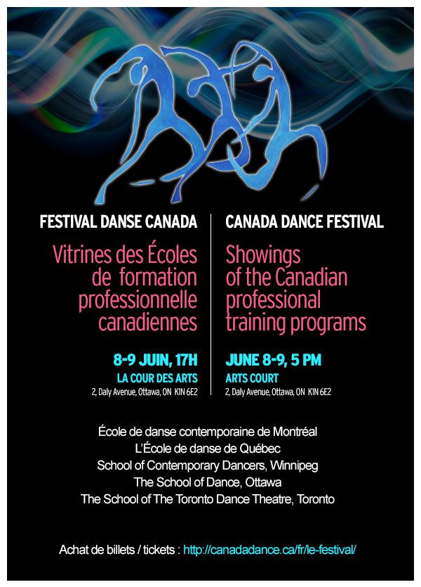 Vitrine des Écoles de formation professionnelle canadiennes au Festival Danse Cananda