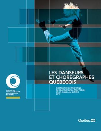 Institut de la statistique du Québec : La profession de la danse au Québec – Communiqué