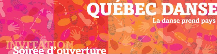 Québec Danse – Invitation à la soirée d'ouverture
