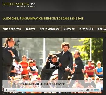La Rotonde, programmation de danse  2012-2013