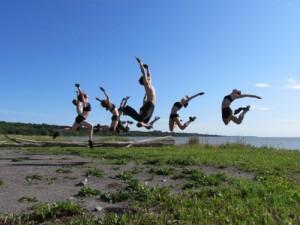 Fleuve – Espace danse présente : À ciel ouvert / Danser sur l'infini de l'horizon / 17e édition / 2011