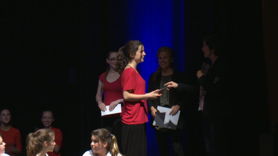 Remise du Prix La Rotonde au collège de Champigny!