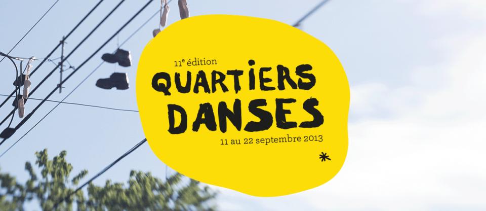 Festival Quartiers Danses – pour une 11e année à Montréal!