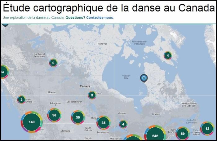 Cartographie de la danse   Sondage «Oui je danse»