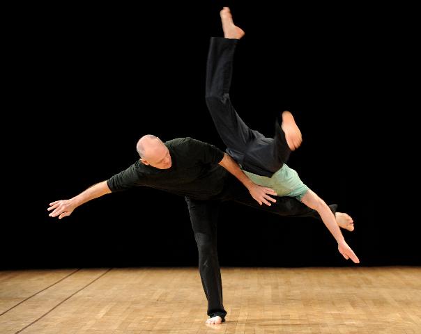 Stage avec Peter Bingham – contact improvisation