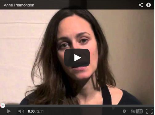 Anne Plamondon nous parle de son spectacle Les mêmes yeux que toi!
