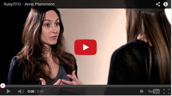 Anne Plamondon en entrevue sur TFO