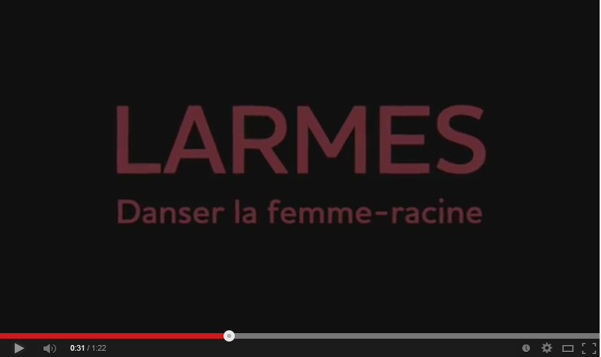 Duo Danse et Poésie, Danser la Femme-Racine le 23 mars 2014!