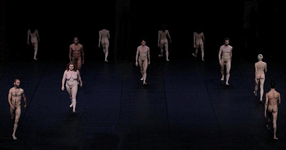 Chroniques du regard 2013-2014,  No9:  Tragédie d'Olivier Dubois