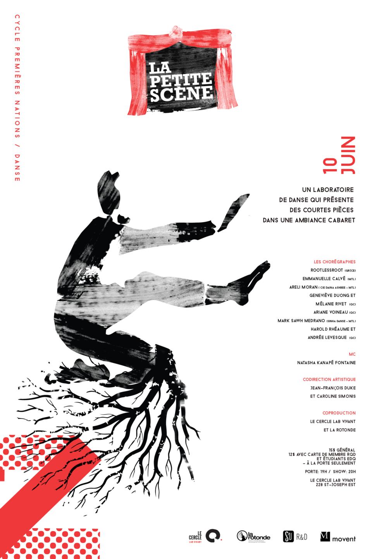 La petite scène, 2e édition, le 10 juin à 20 h au Cercle – portes à 19 h