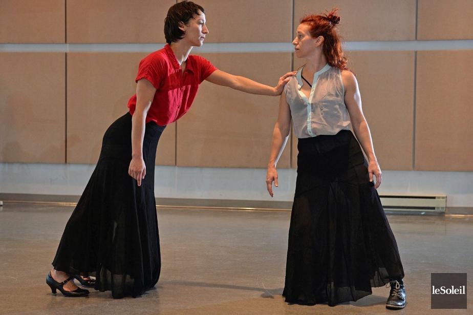 Femmes-bustes et Femmes de la lune rouge: quand la danse naît au musée – par Josianne Desloges, Le Soleil