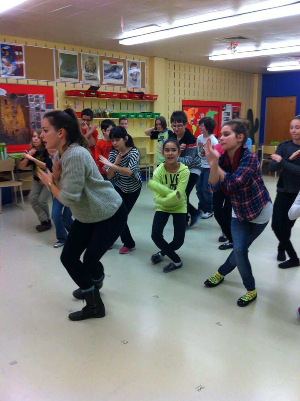 Bilan des ateliers scolaires à Québec avec PPS Danse