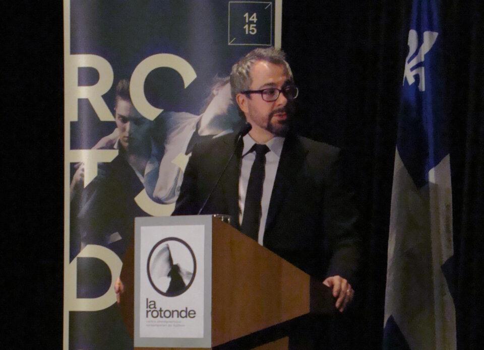 Allocution de Steve Huot – La Maison pour la danse de Québec – 19 février 2015