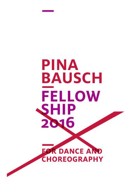Bourses de la Fondation Pina Bausch pour résidences, apprentis et formation continue des danseurs