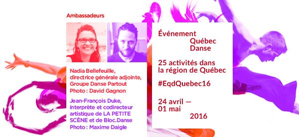 5e édition de l'événement Québec danse à Québec