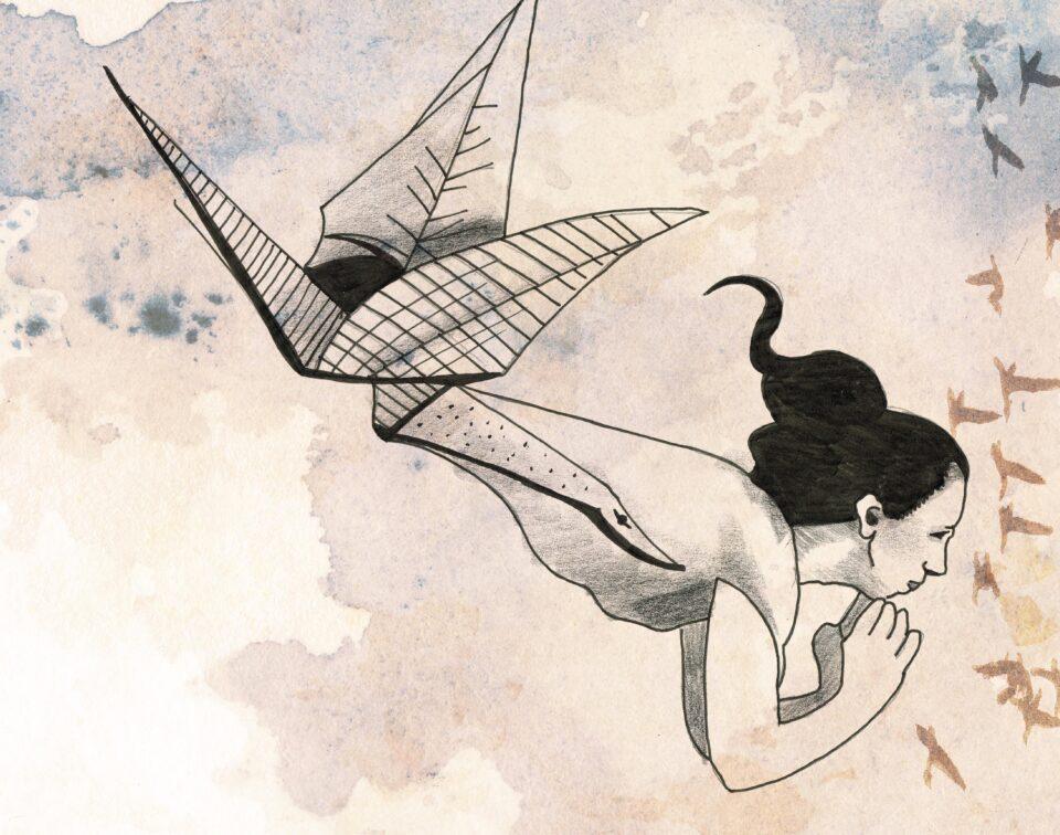 Les Milles Grues – Danse contemporaine et théâtre d'ombres par Geneviève Duong – Les Journées de la Culture