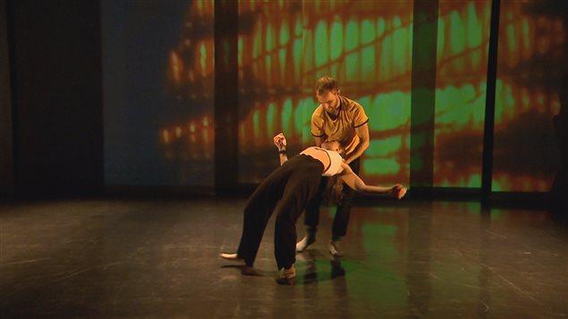 Karine Ledoyen présente sa Danse de nuit par Ici Québec