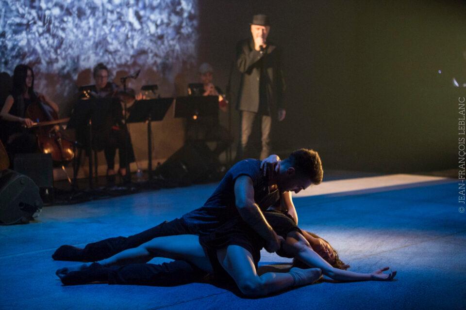 Pierre-Paul Savoie: danser Léo Ferré par Josianne Desloges, Le Soleil