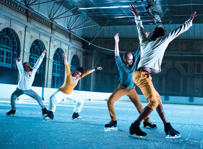 Danse sur glace par Daphné Bédard, Le Soleil