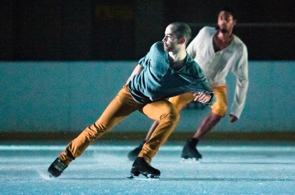 Vertical influences: plaisir sur patins par Daphné Bédard, Le Soleil