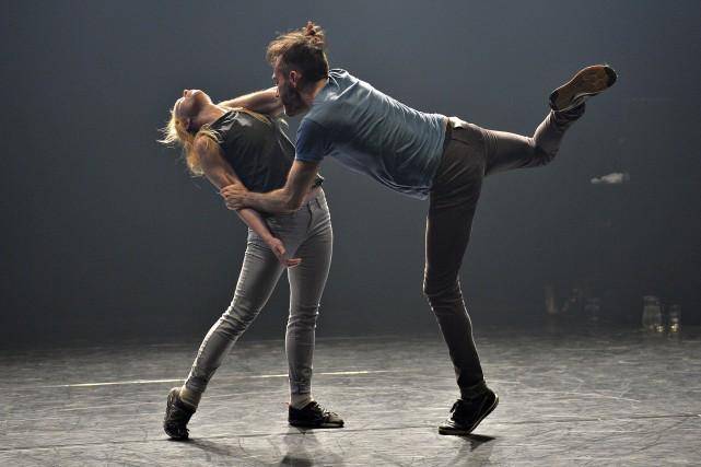 This duet that we've already done (so many times): duo attachant par Daphné Bédard, Le Soleil