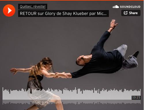 Retour sur Glory de Shay Kuebler par Mickaël Bergeron – CKIA