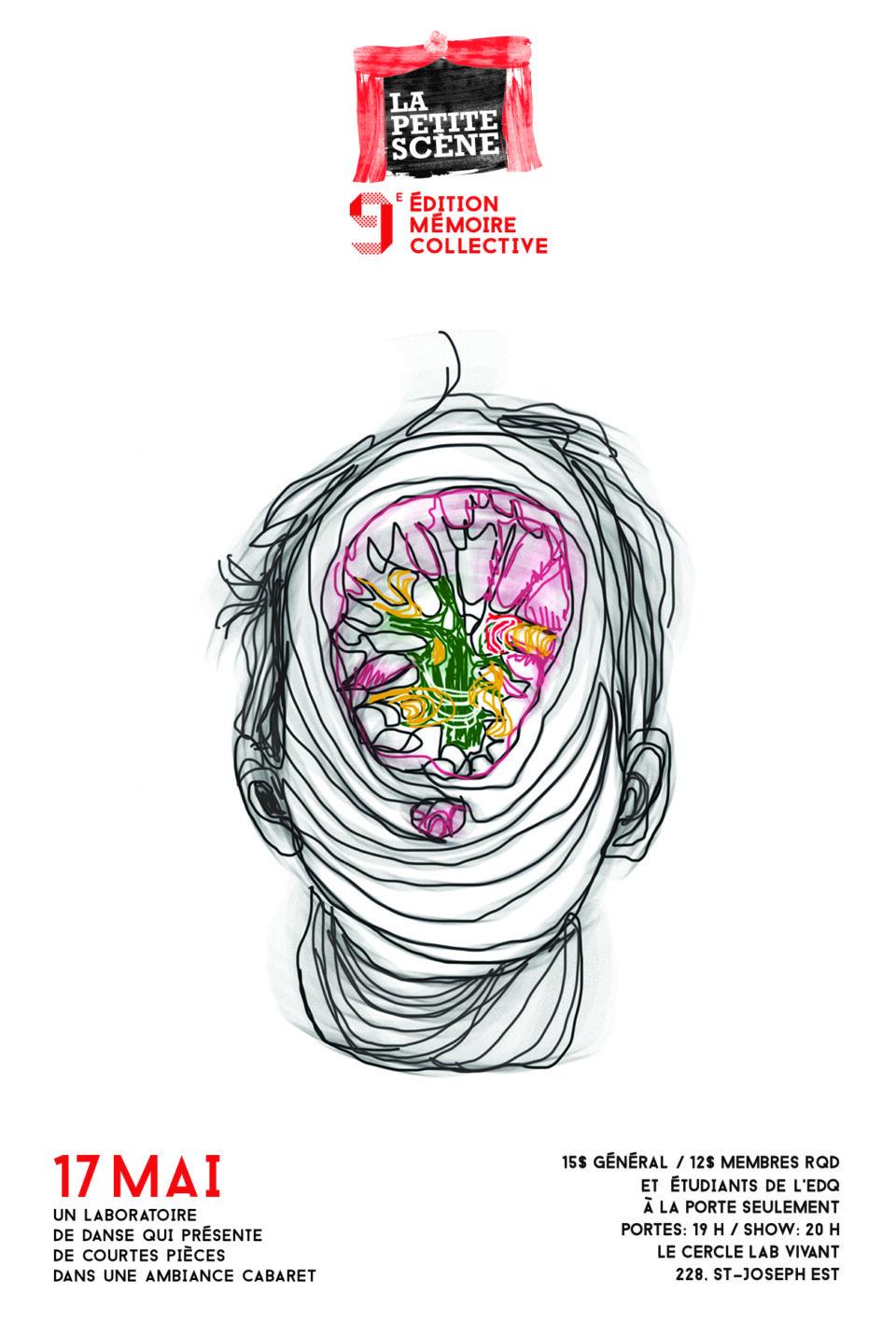Rendez-vous le 17 mai pour la 9e édition de La petite scène sur le thème de la Mémoire collective!