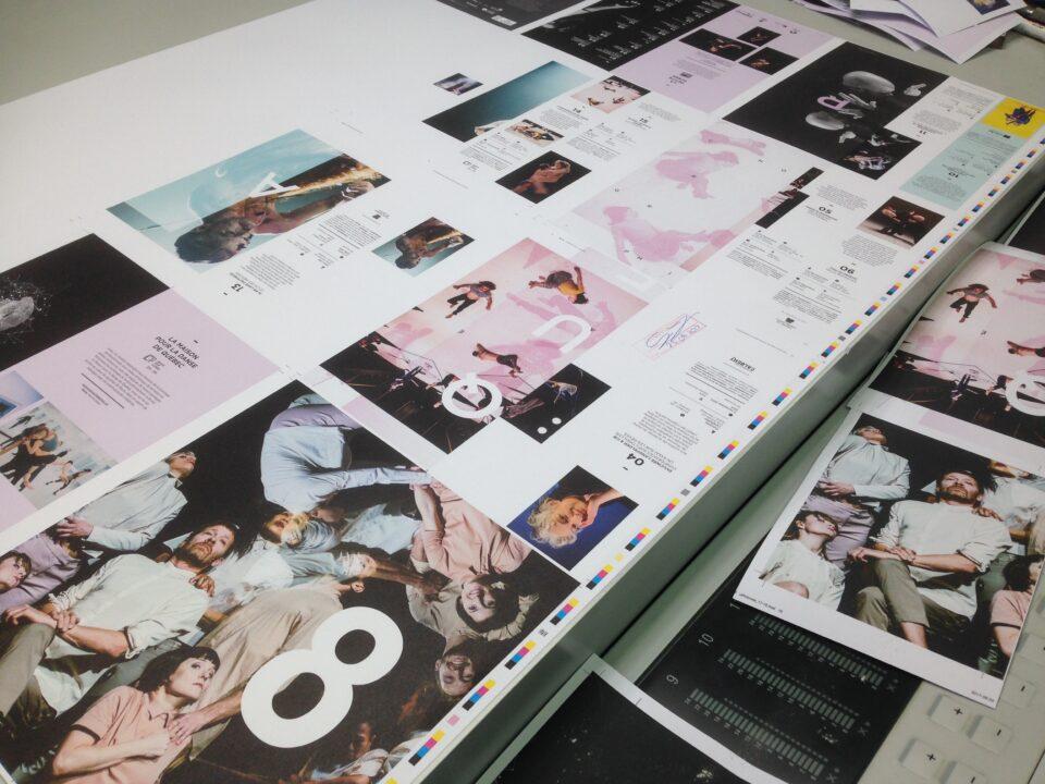 Concept artistique unique de la brochure 2017-2018