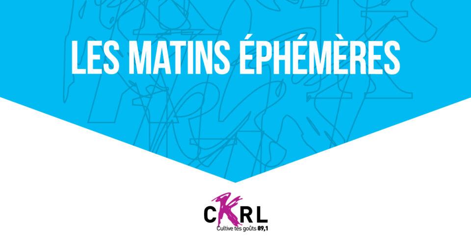 Chronique Les matins éphémères, P.artition B.lanche, par Josie Belley