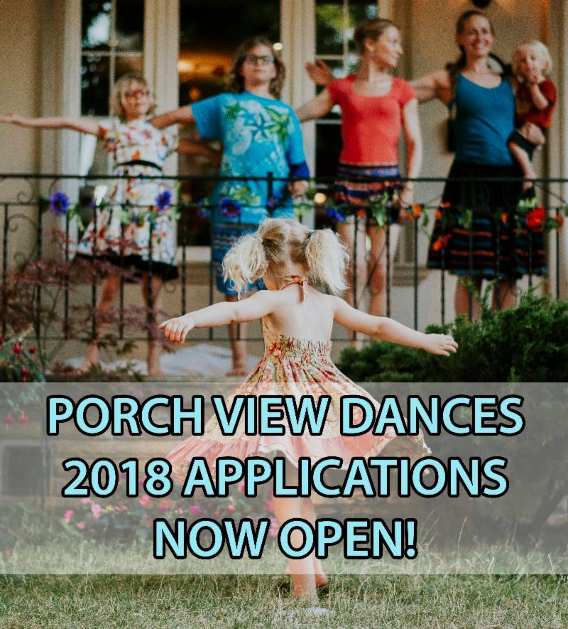 Appel de projets – Porch View Dances – Kaeja Dance