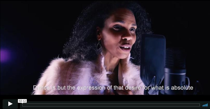 Message québécois de la Journée internationale de la danse par Mélanie Demers