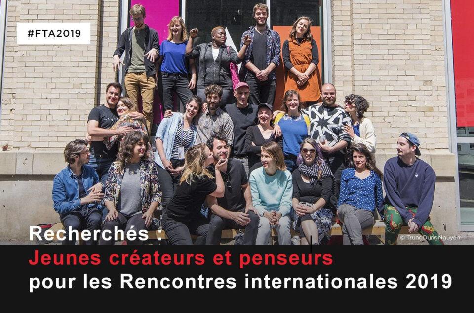 Appel à candidatures | Rencontres internationales de jeunes créateurs et critiques des arts de la scène