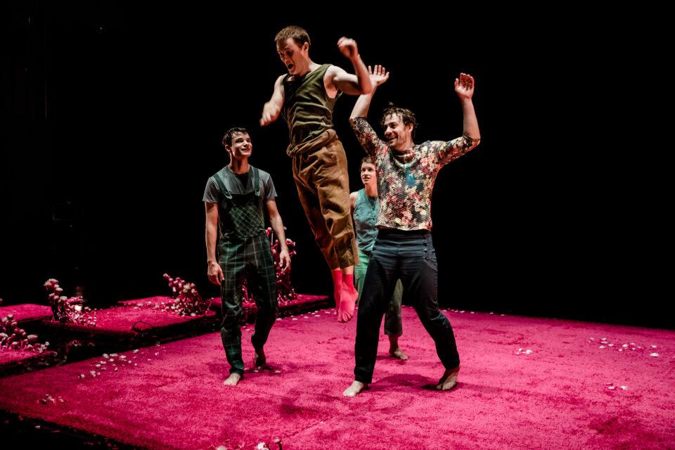 Le problème avec le rose - Le Petit théâtre de Sherbrooke et La [parenthèse] / Photo : Jean Charles Verchère