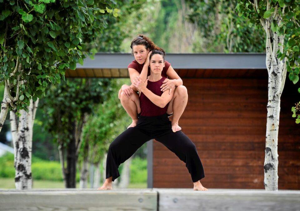 «Ceux qui restent»: danse-création sur la promenade Samuel-De Champlain | Article | Le Soleil