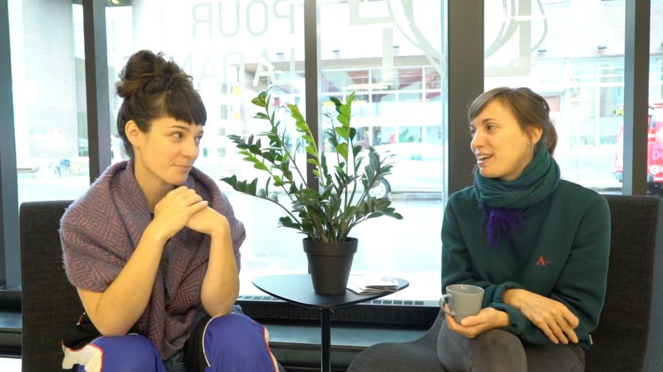 Vidéo : 3 minutes avec Priscilla Guy et Catherine Lavoie-Marcus