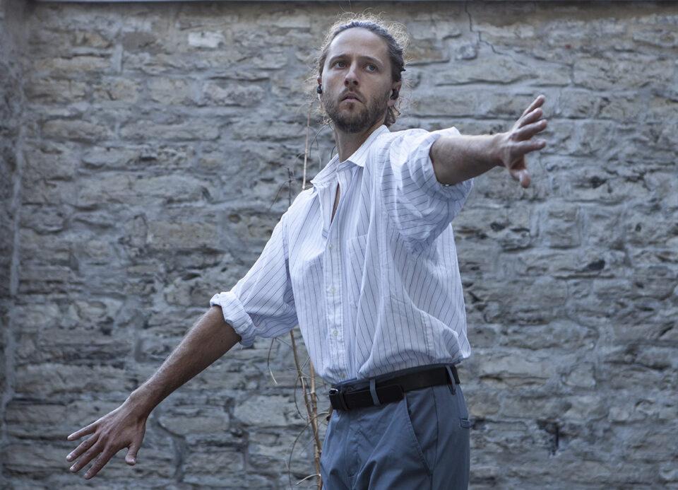 Jean-François Duke dans Osez! en solo 2020 - Danse K par K / Crédit photo : David Cannon