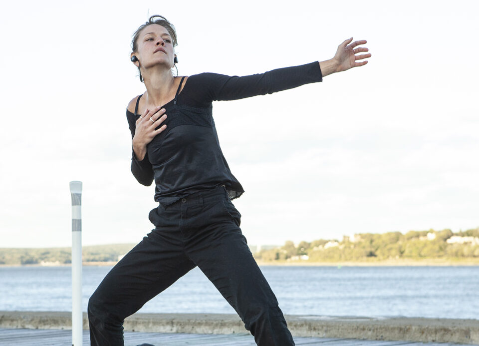 Odile-Amélie Peters dans Osez! en solo 2020 - Danse K par K / Crédit photo : David Cannon