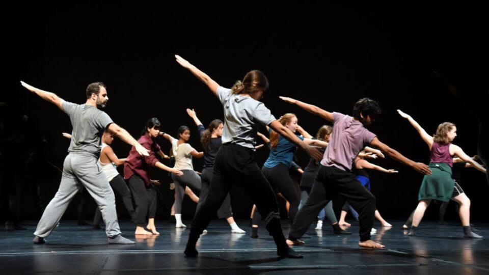Atelier de danse avec la Compagnie Hervé Koubi