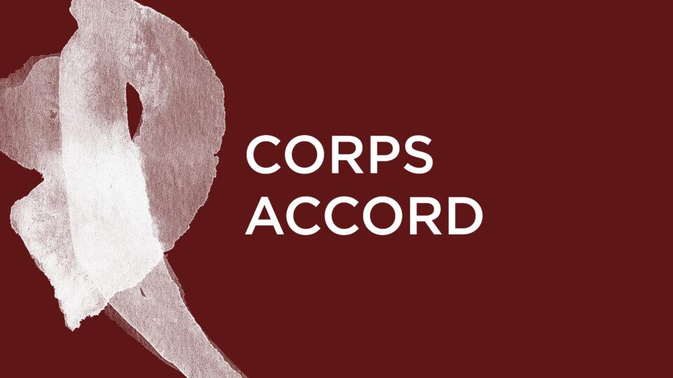 Corps Accord : Ce que le jour doit à la nuit