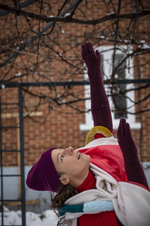 Amélie Gagnon dans Une danse par cour - Le CRue / Crédit photo : Elias Djemil