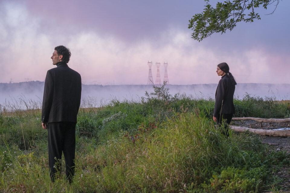Nicolas Patry et Myriam Arseneault dans La Forêt Mixte - Le Carré des Lombes / Crédit photo : Luc Senécal