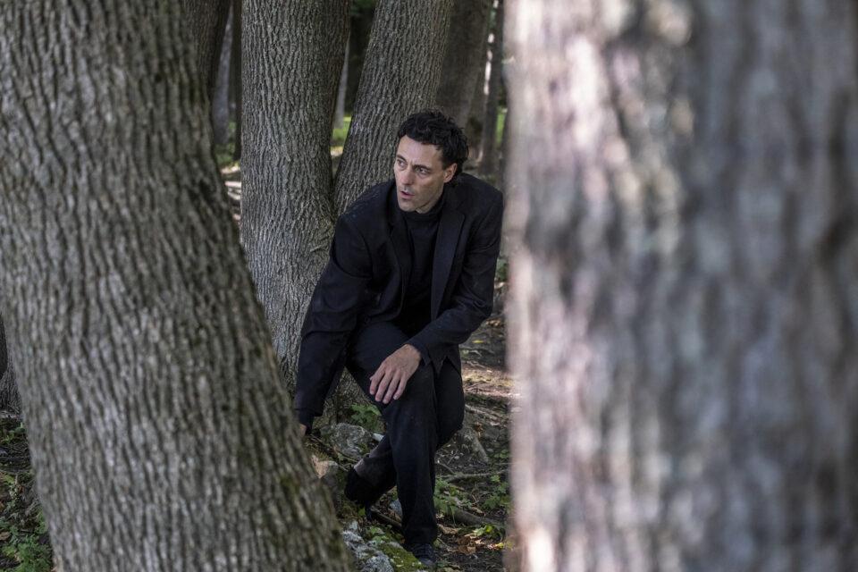 Nicolas Patry dans La Forêt Mixte - Le Carré des Lombes / Crédit photo : Luc Senécal