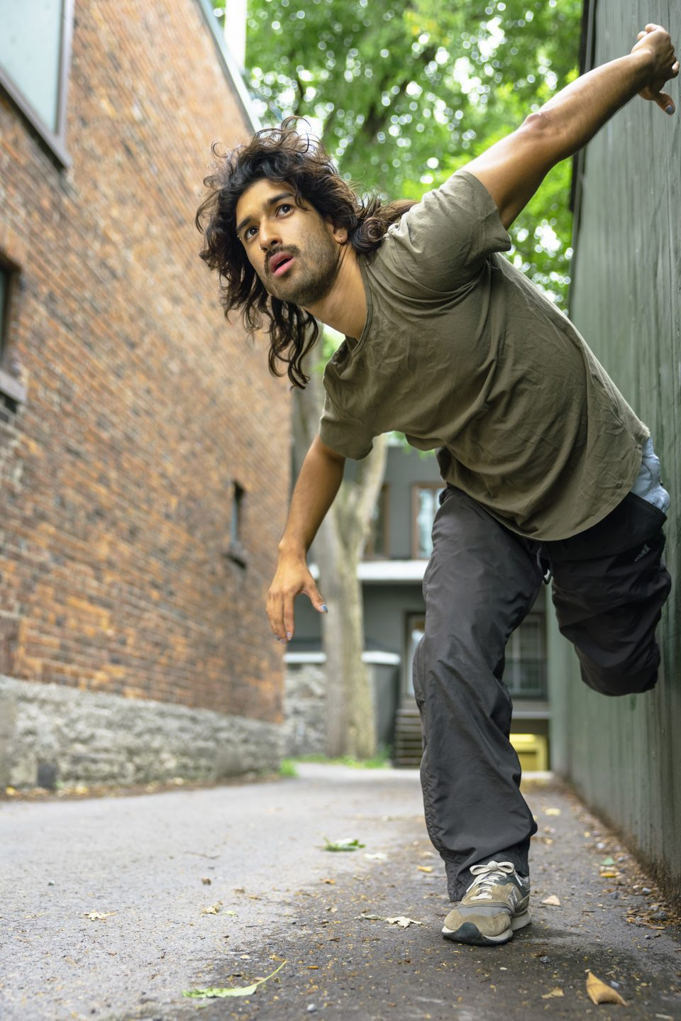 Rodrigo Alvarenga Bonilla dans Osez! en solo 2021 - Danse K par K / Crédit photo : Stéphane Bourgeois