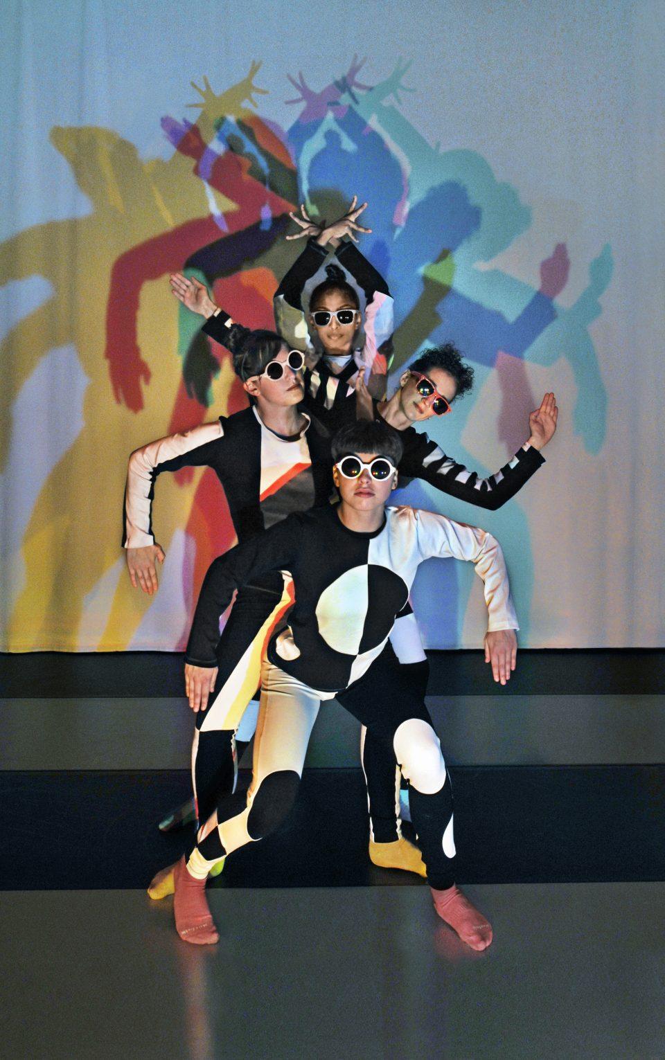 Sur la photo : Emmanuelle Martin, Myriam Tremblay, Julie Tymchuk et Émilie Wilson / Crédit photo : Rolline Laporte